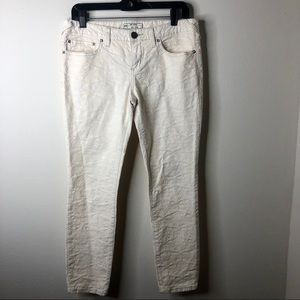 Free People Textured Stretch Jeans